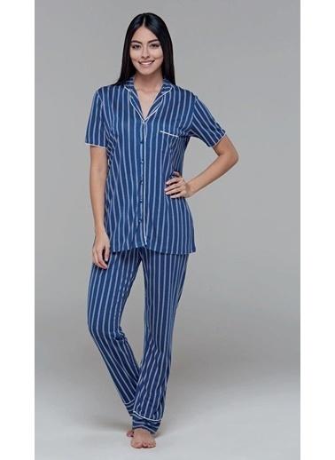 Pjs Pijama Takım Lacivert